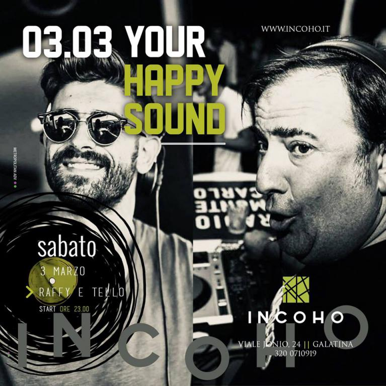 Incoho - Happy sound... Happy Incoho!