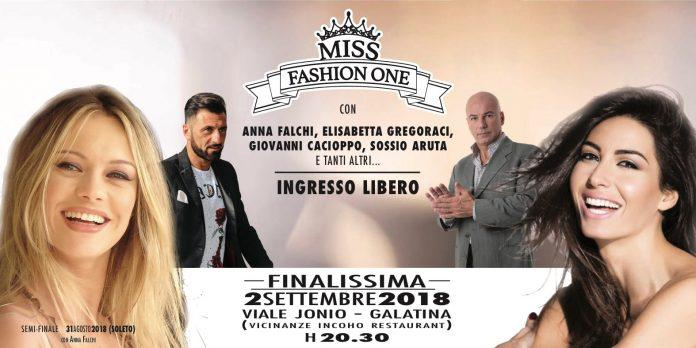 Incoho - Miss Fashion One con elisabetta Gregoraci