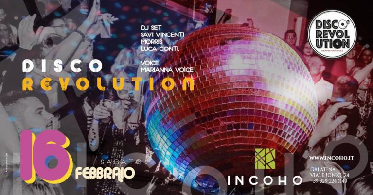 Incoho - Disco Revolution