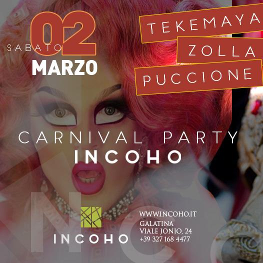 Incoho - Carnival Party 2019