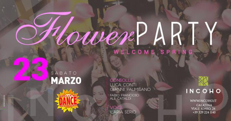 Incoho - Flower Party 2019
